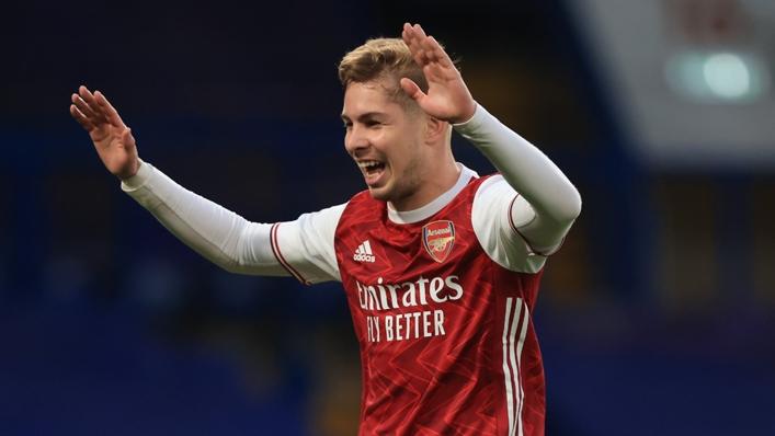 Aston Villa target Emile Smith Rowe impressed for Arsenal last term