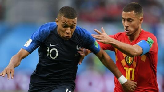 Chelsea news: Kylian Mbappe hails Eden Hazard as the best player he's faced in 2018 | Goal.com