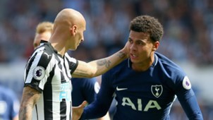 Jonjo Shelvey and Dele Alli