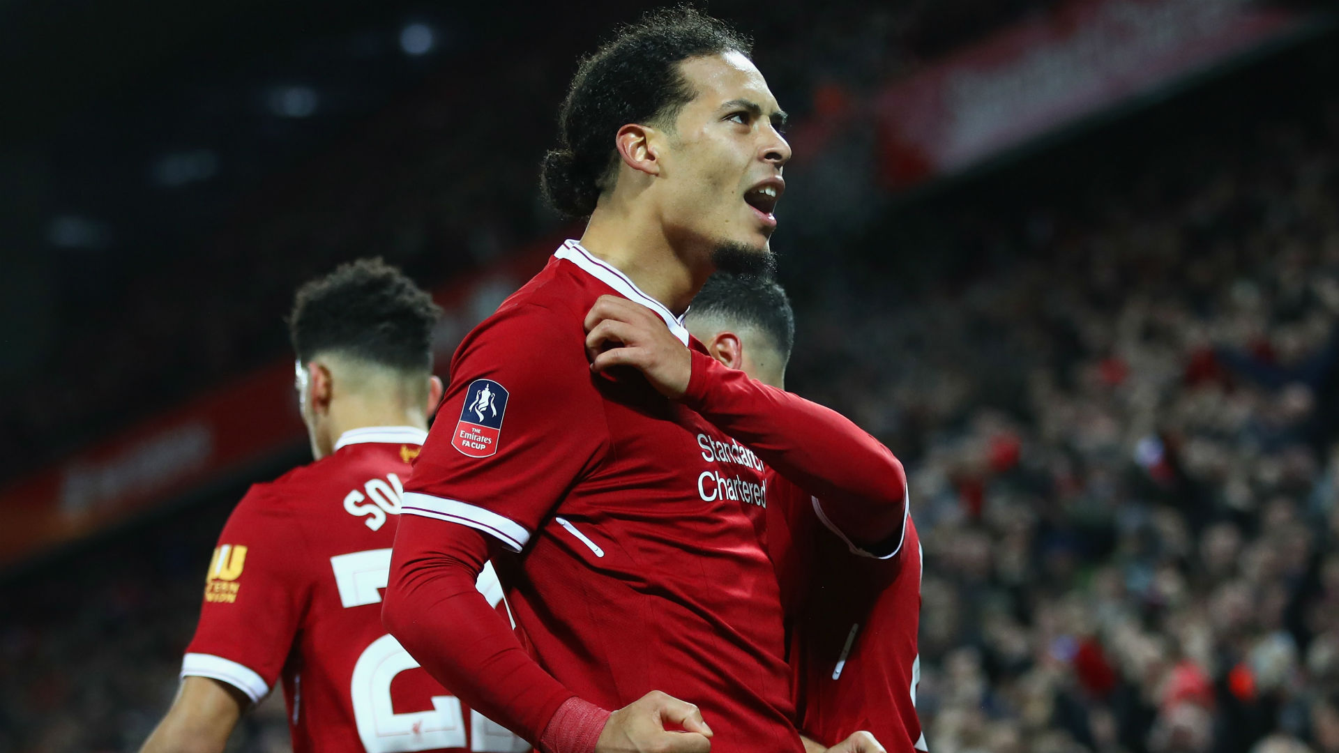 Liverpool defender Van Dijk: £75M fee a big compliment