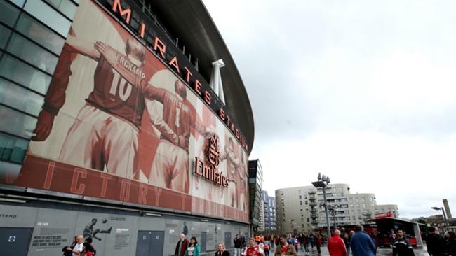Emirates Stadium, the home of Arsenal