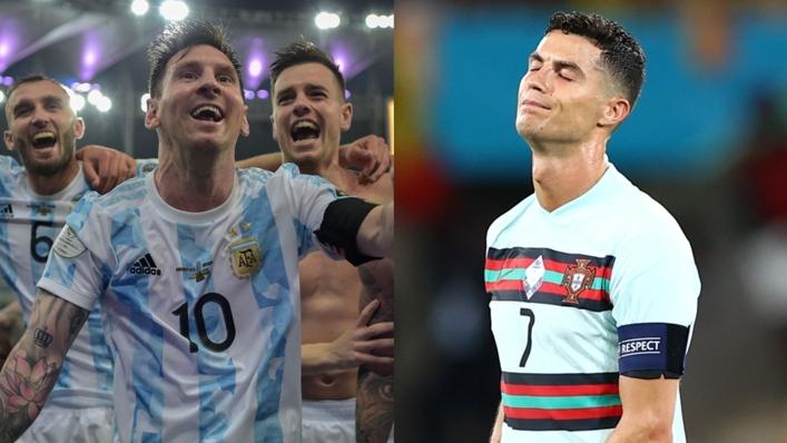 Lionel Messi and Argentina celebrated as Cristiano Ronaldo's Portugal struggled