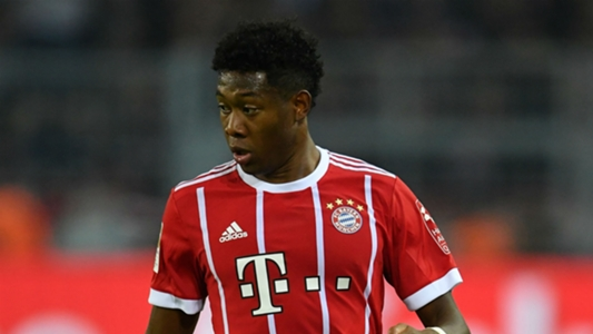 Bayern's Alaba out of Austria squad with hamstring injury
