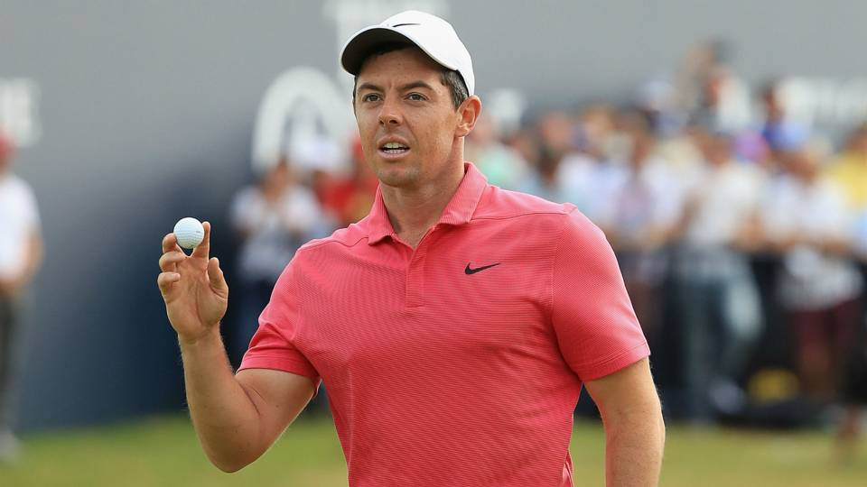 British Open 2018: Rory McIlroy says it's great to be back in mix