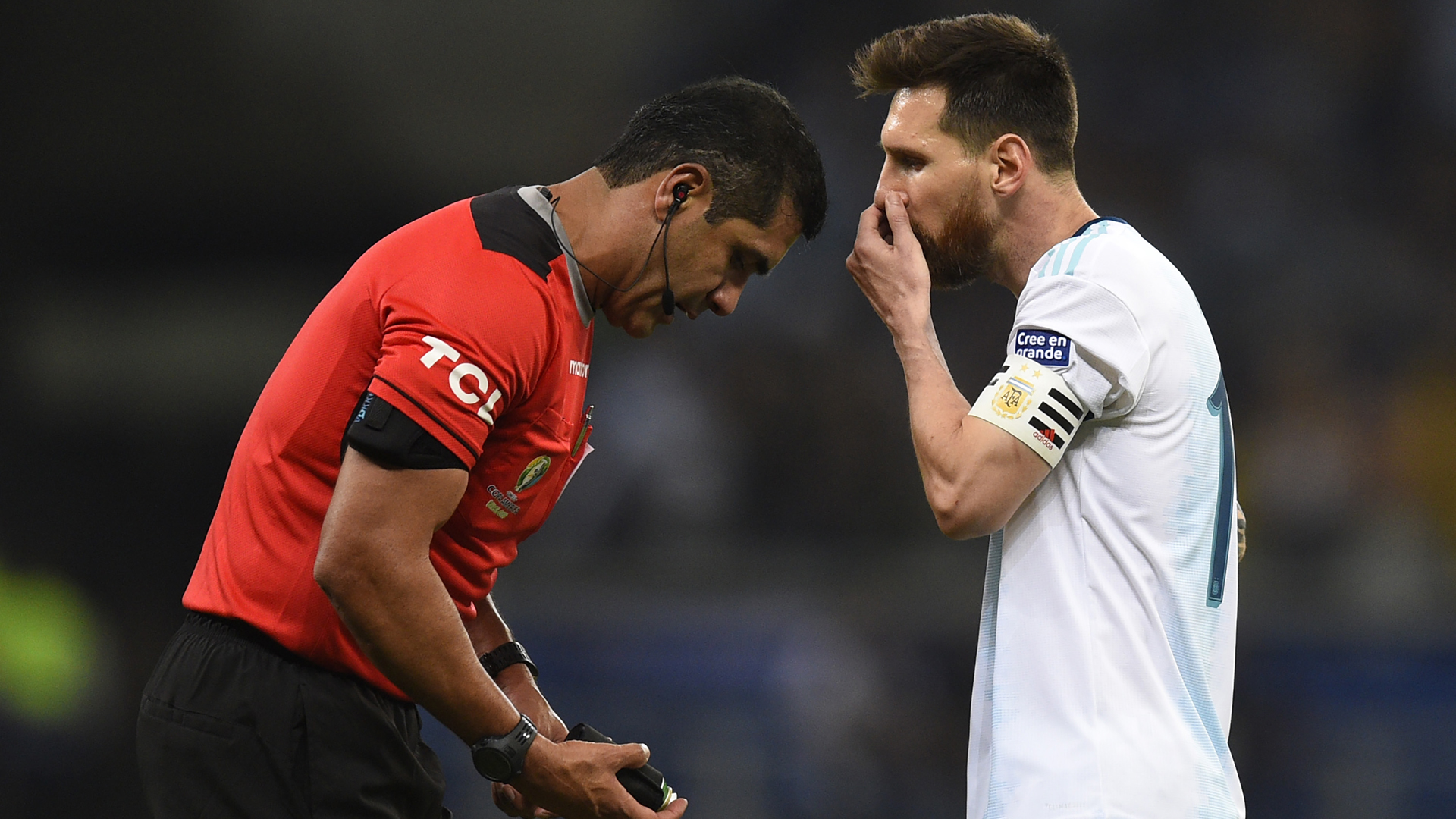 Lionel Messi blasts 'bulls—' refereeing after Argentina's Copa America loss