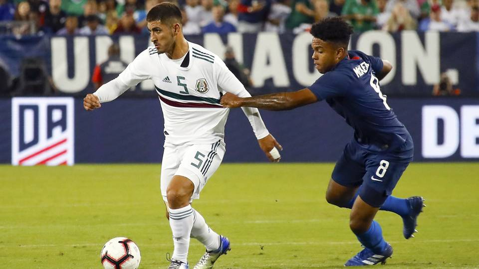Tyler Adams lifts United States to win over Mexico