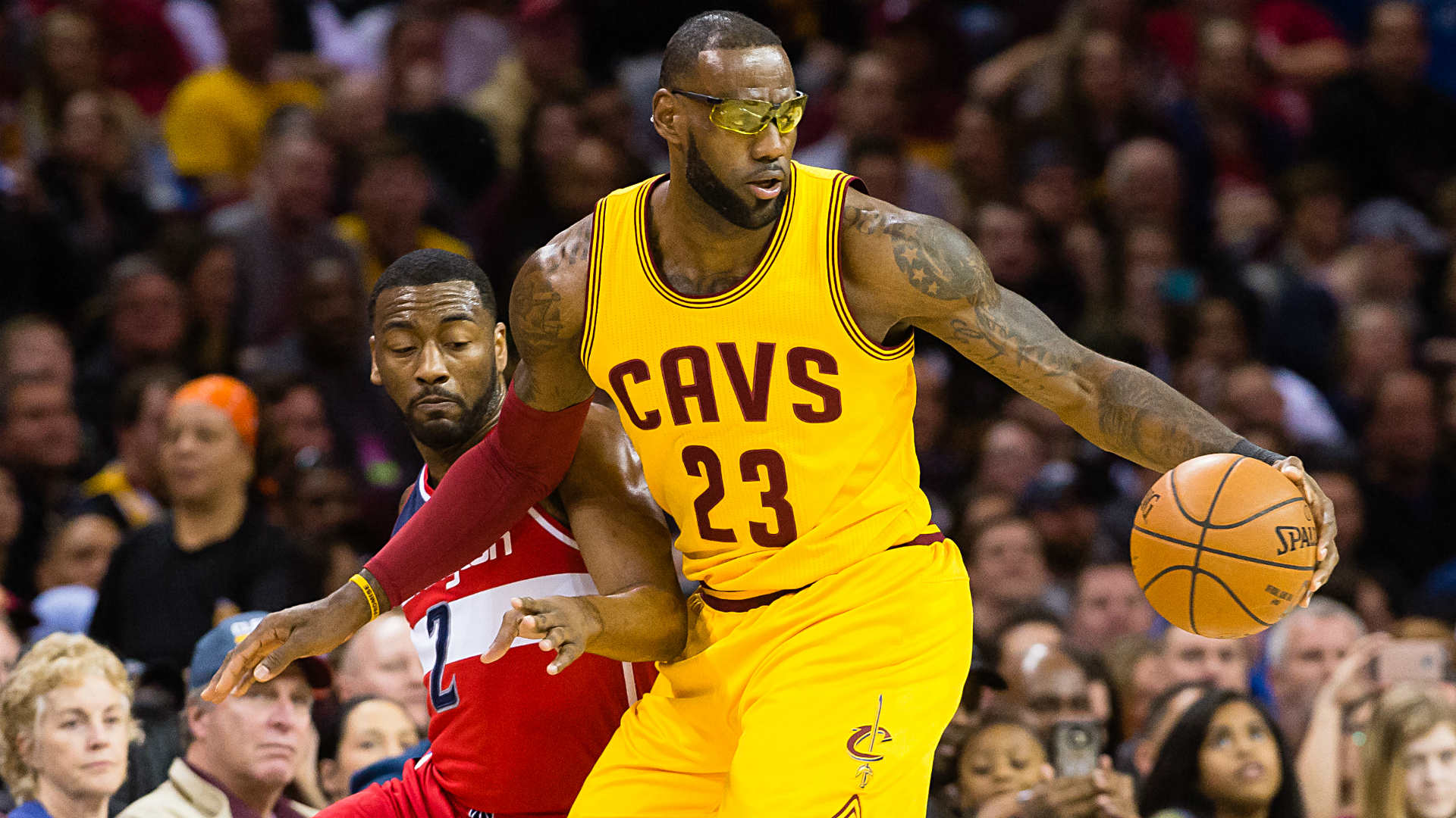 Lebron James Ditches Goggles But Wizards Top Cavaliers Sporting News