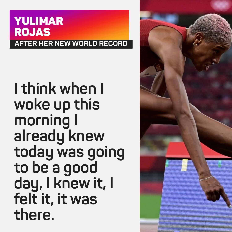 Yulimar Rojas world record