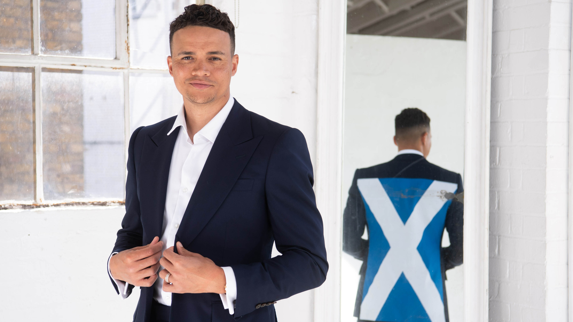 Jenas and McCoist appeared as part of Heineken's global 'Finally Together' campaign
