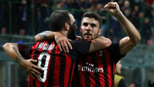 Gonzalo Higuain and Patrick Cutrone - cropped