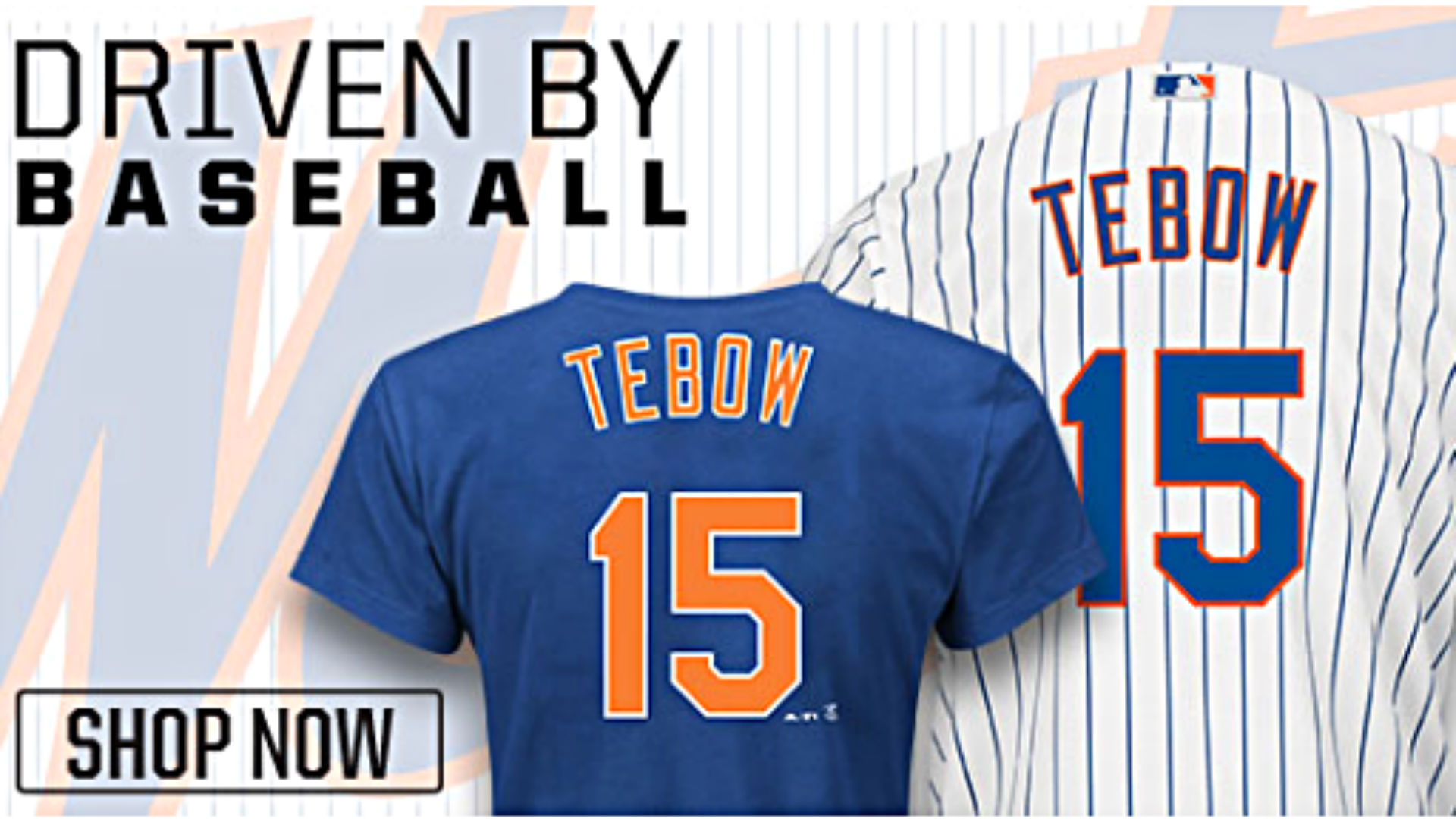 promo code 230ec 14d73 Tim Tebow's Mets jersey already selling fast | Sporting News