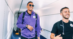 Man City finally set off for pre-season tour of China after flights were cancelled
