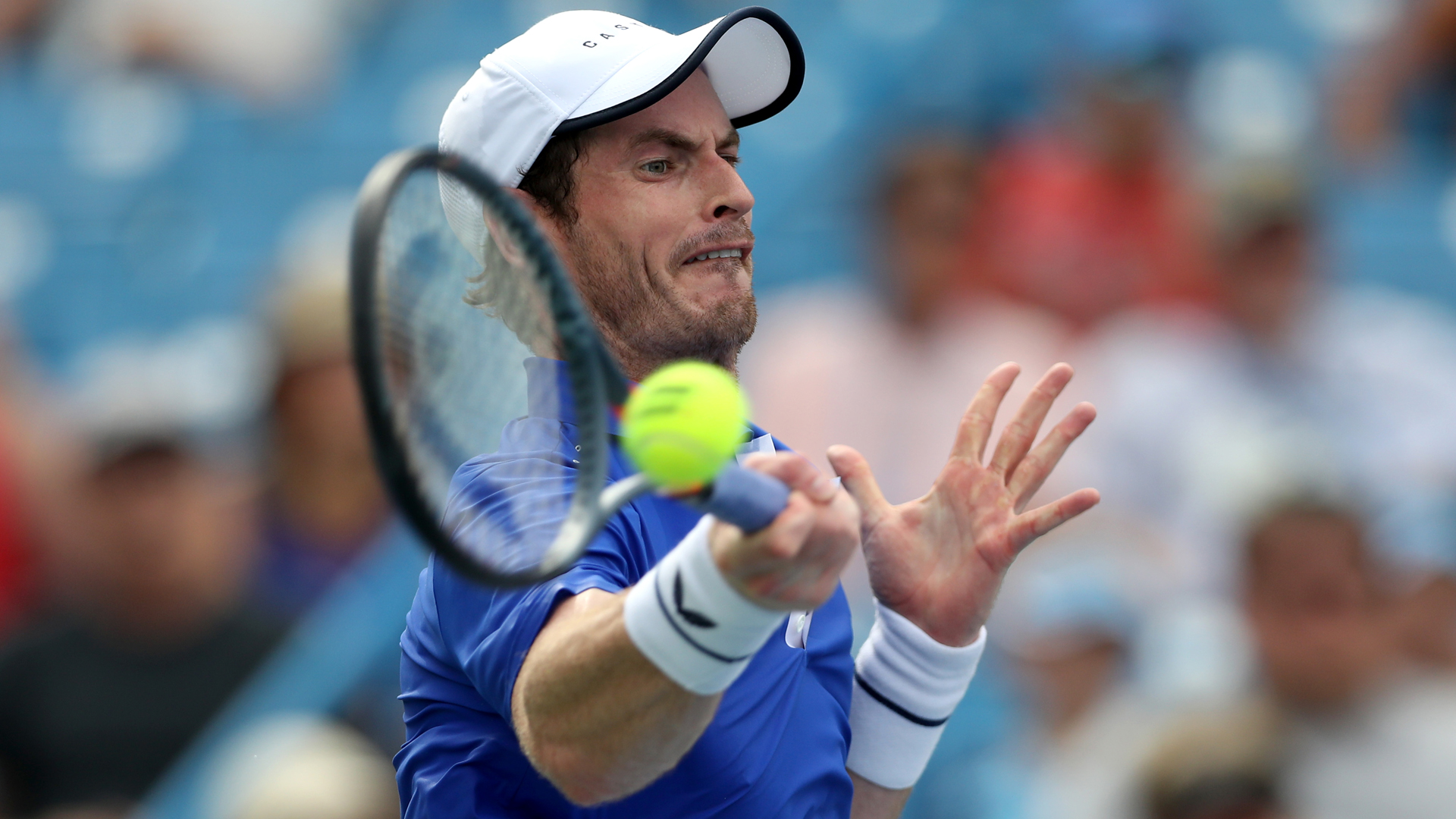 Andy Murray beaten at Winston-Salem Open as singles return continues