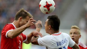Russia v Chile - Cropped