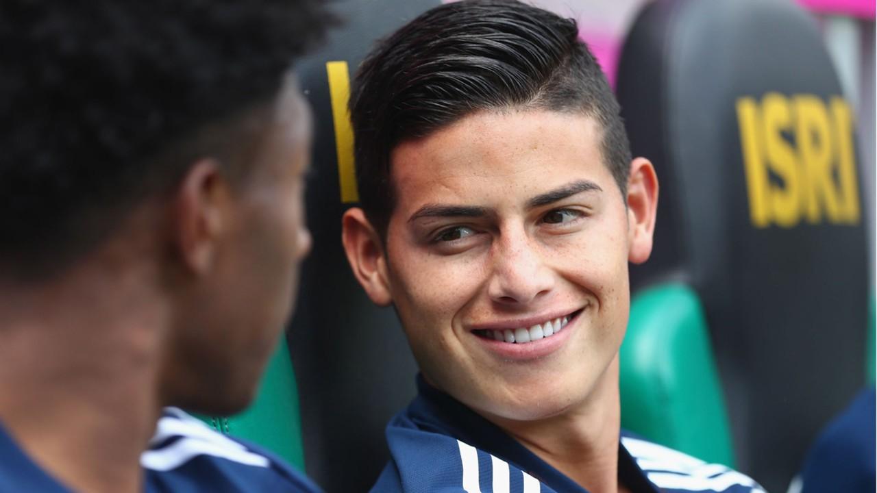 Bayern Munich news James Rodriguez satisfied with trophy winning