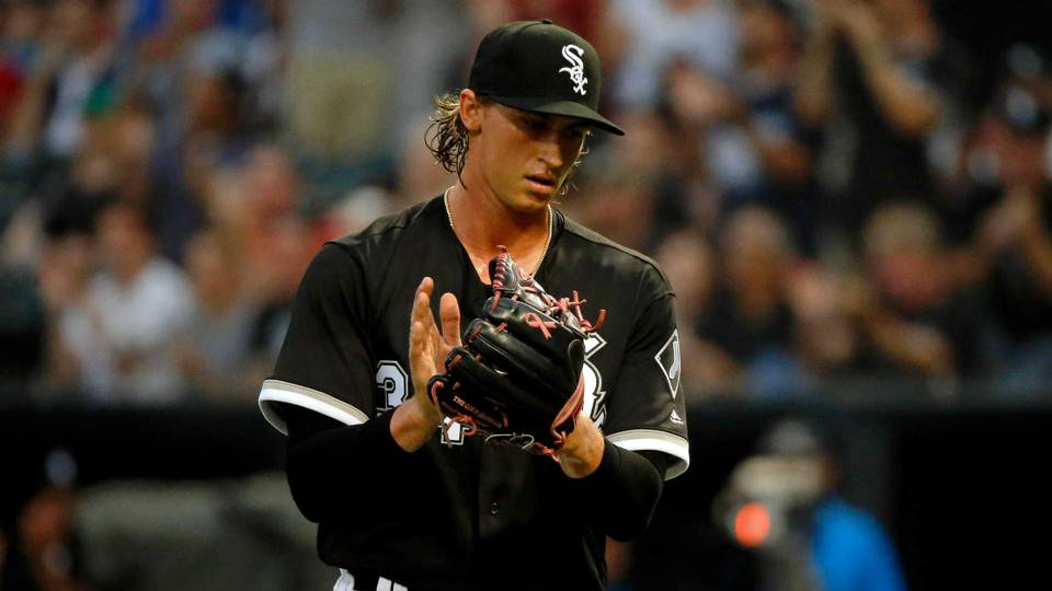 White Sox's Michael Kopech is electric in rain-shortened MLB debut
