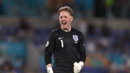 Jordan Pickford kept another clean sheet at Euro 2020