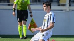 Alvaro Morata celebrates his equaliser