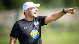 Former Hertha Berlin goalkeeping coach Zsolt Petry