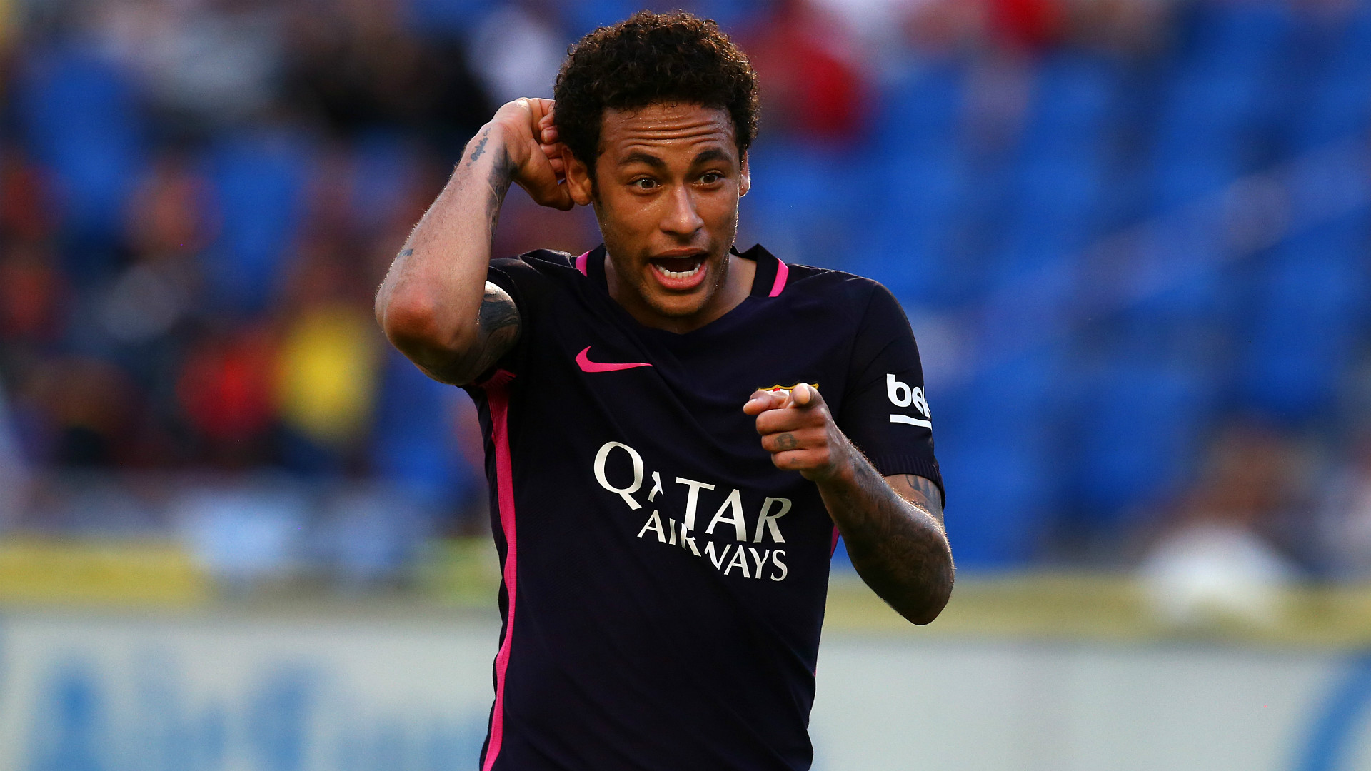 Neymar involved in training bust-up with Barca team-mate