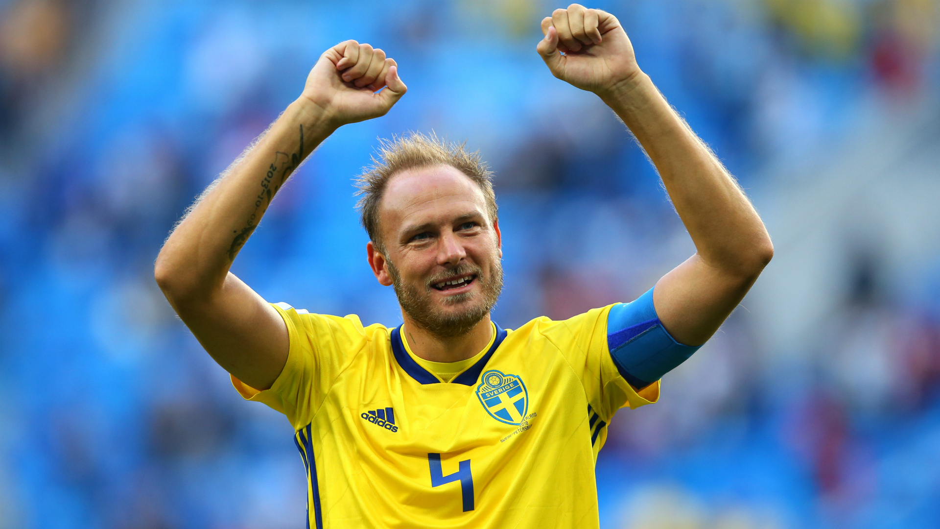 Andreas Granqvist confirms talks with Red Devils