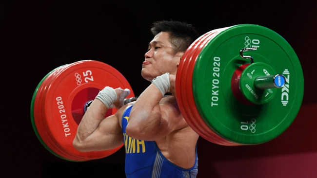 Lyu Xiaojun made history in Saturday's Olympics action