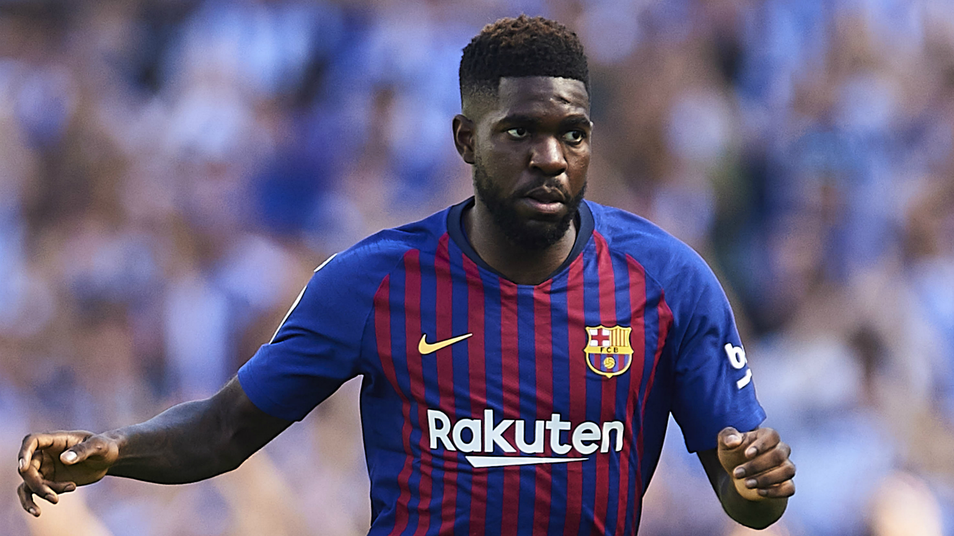 Umtiti Named in Barcelona Squad to Face Lyon