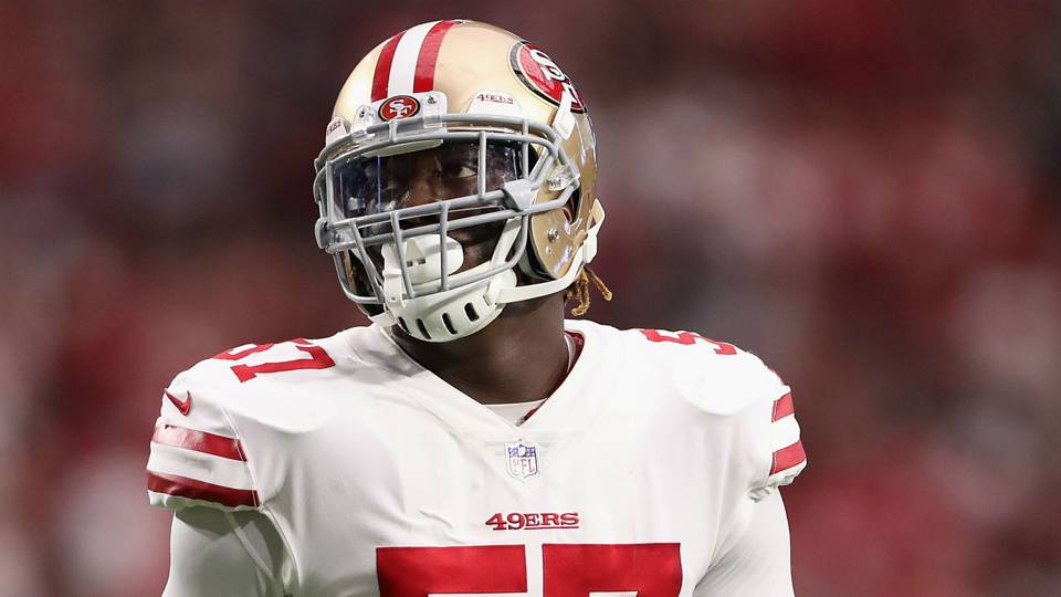 NFL trade rumors: 49ers send linebacker Eli Harold to Lions