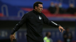 Lionel Scaloni has seen Argentina reach the knockout rounds with a game to spare in Group A.