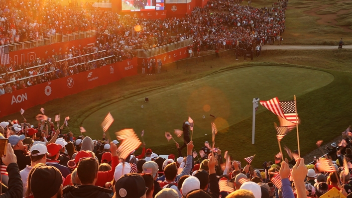 The 43rd Ryder Cup started at Whistling Straits on Friday