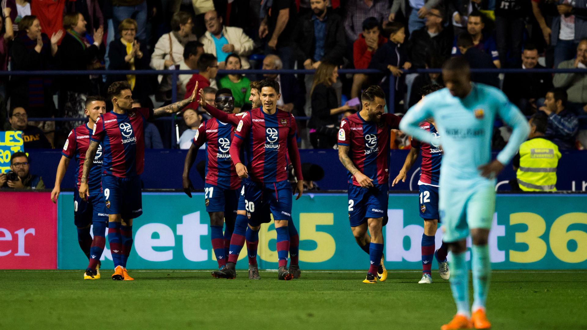 Levante V Barcelona Match Report  Primera Division Goal Com