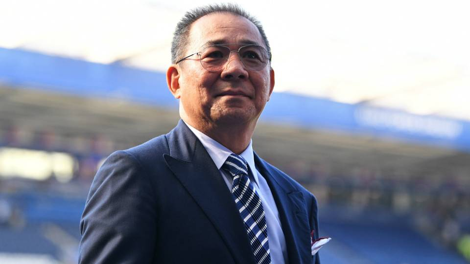 Leicester chairman Vichai Srivaddhanaprabha killed in helicopter crash