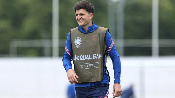 Harry Maguire is in contention to return for England against Scotland