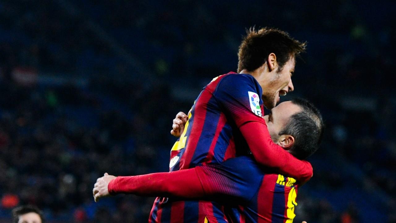 Tokeo la picha la Iniesta and Neymar