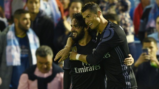 Isco and Ronaldo - Cropped