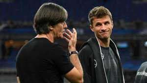 Joachim Low and Thomas Muller - cropped