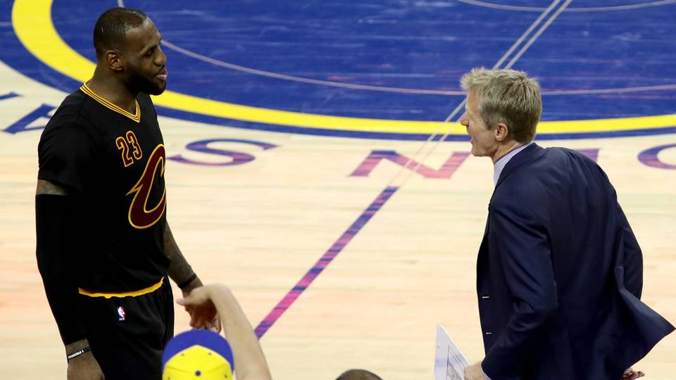 Steve Kerr on LeBron James to Lakers: 'I am not going to give that any thought'
