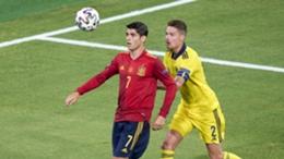 Spain striker Alvaro Morata