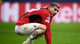 Theo Hernandez has missed Milan's last three games