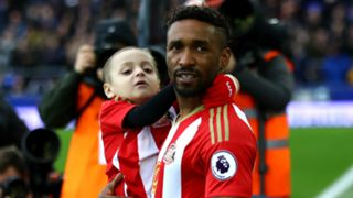 Defoe and Bradley Lowery - Cropped
