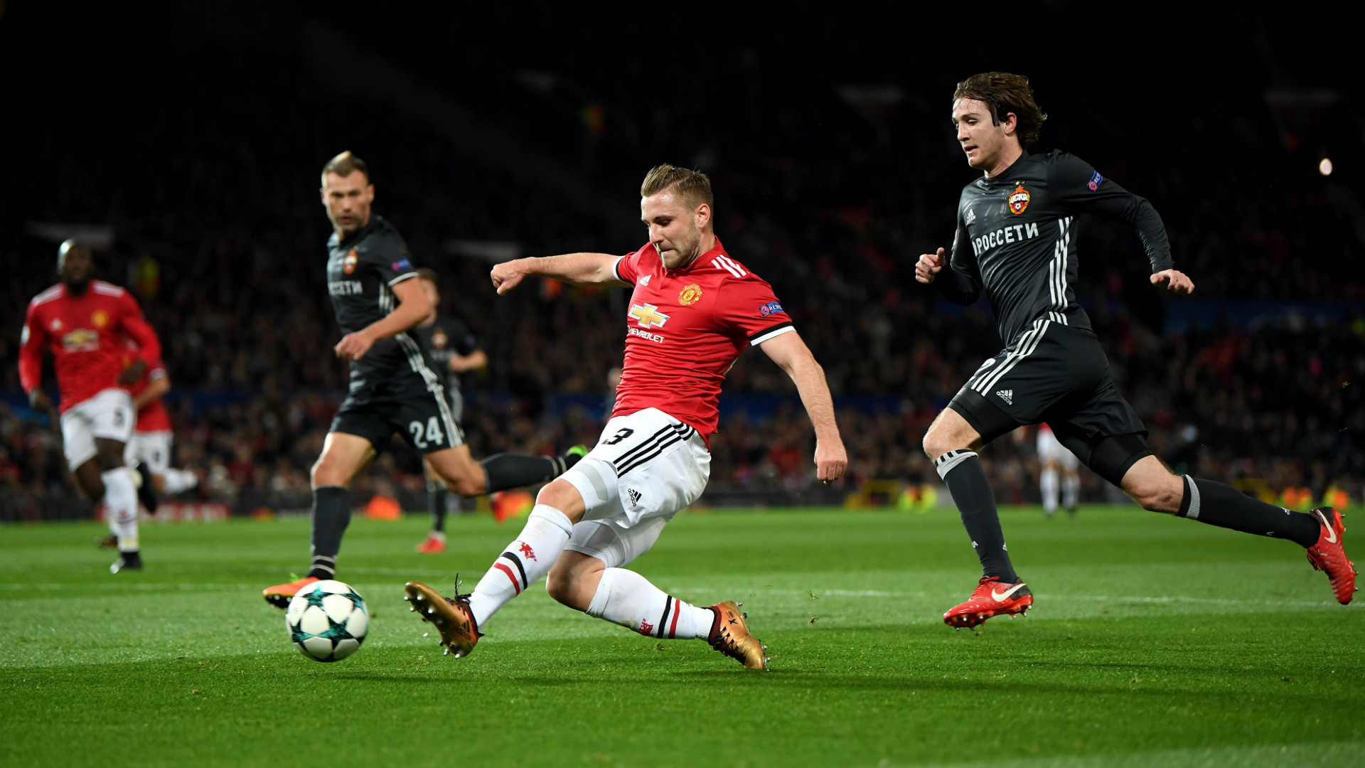 Jose Mourinho Pondering Luke Shaw Start Against CSKA Moscow