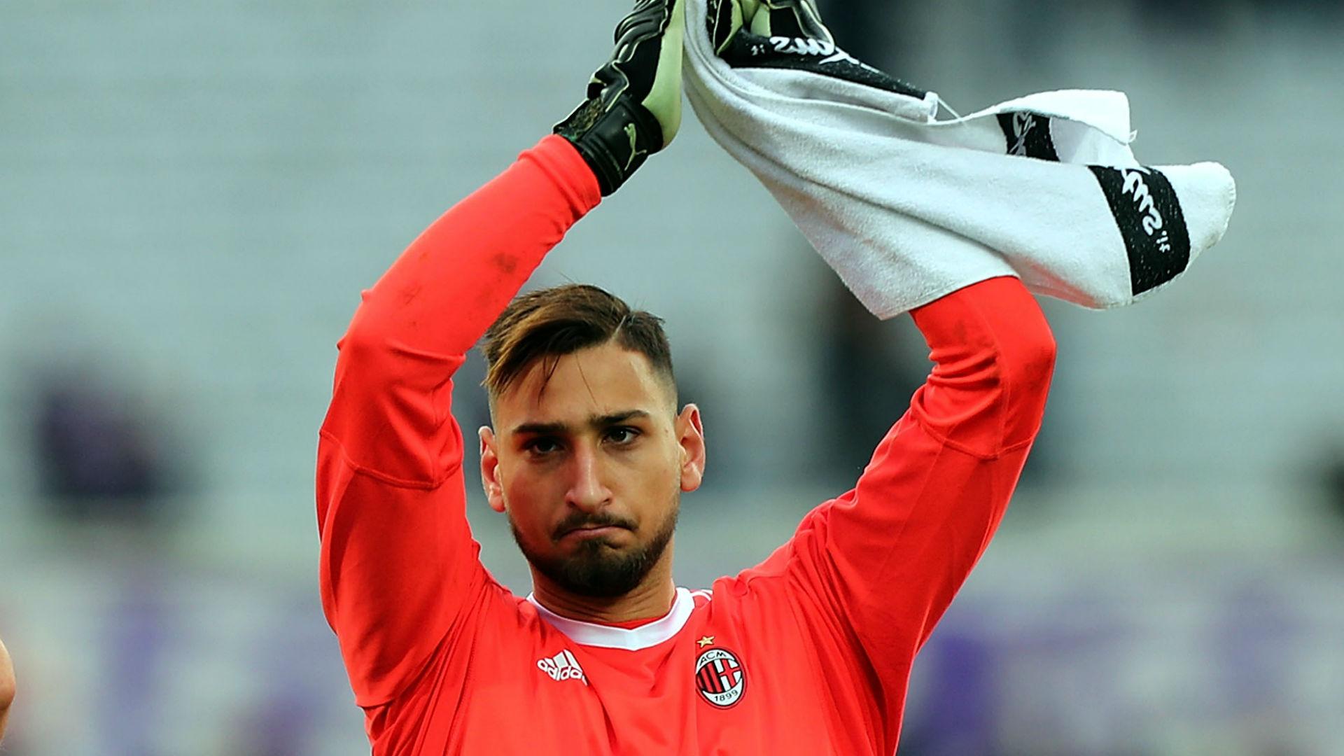 Donnarumma allays AC Milan exit fears: 'I'm very happy here'