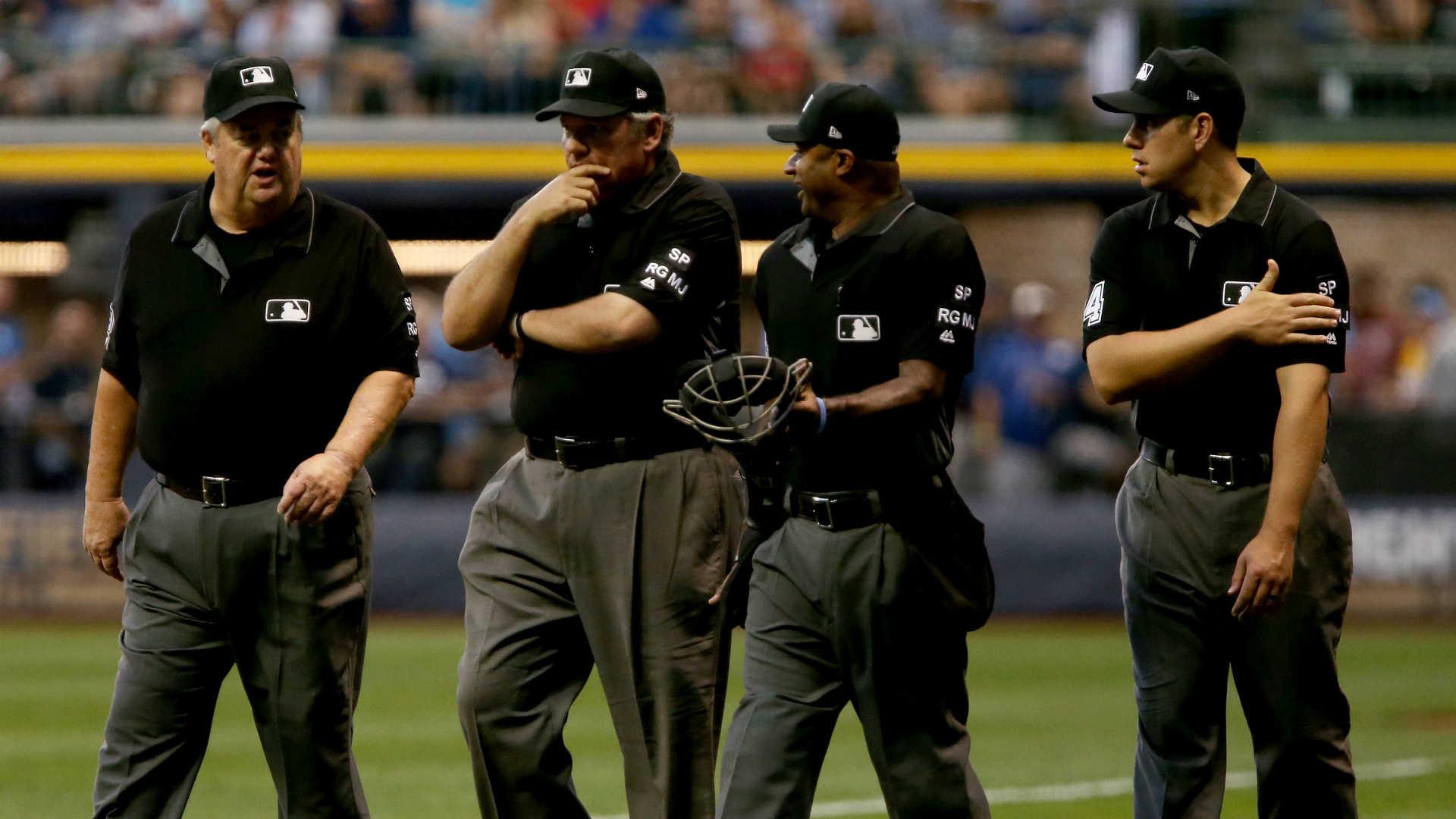 MLB umpires missed 34,294 ball-strike calls in 2018