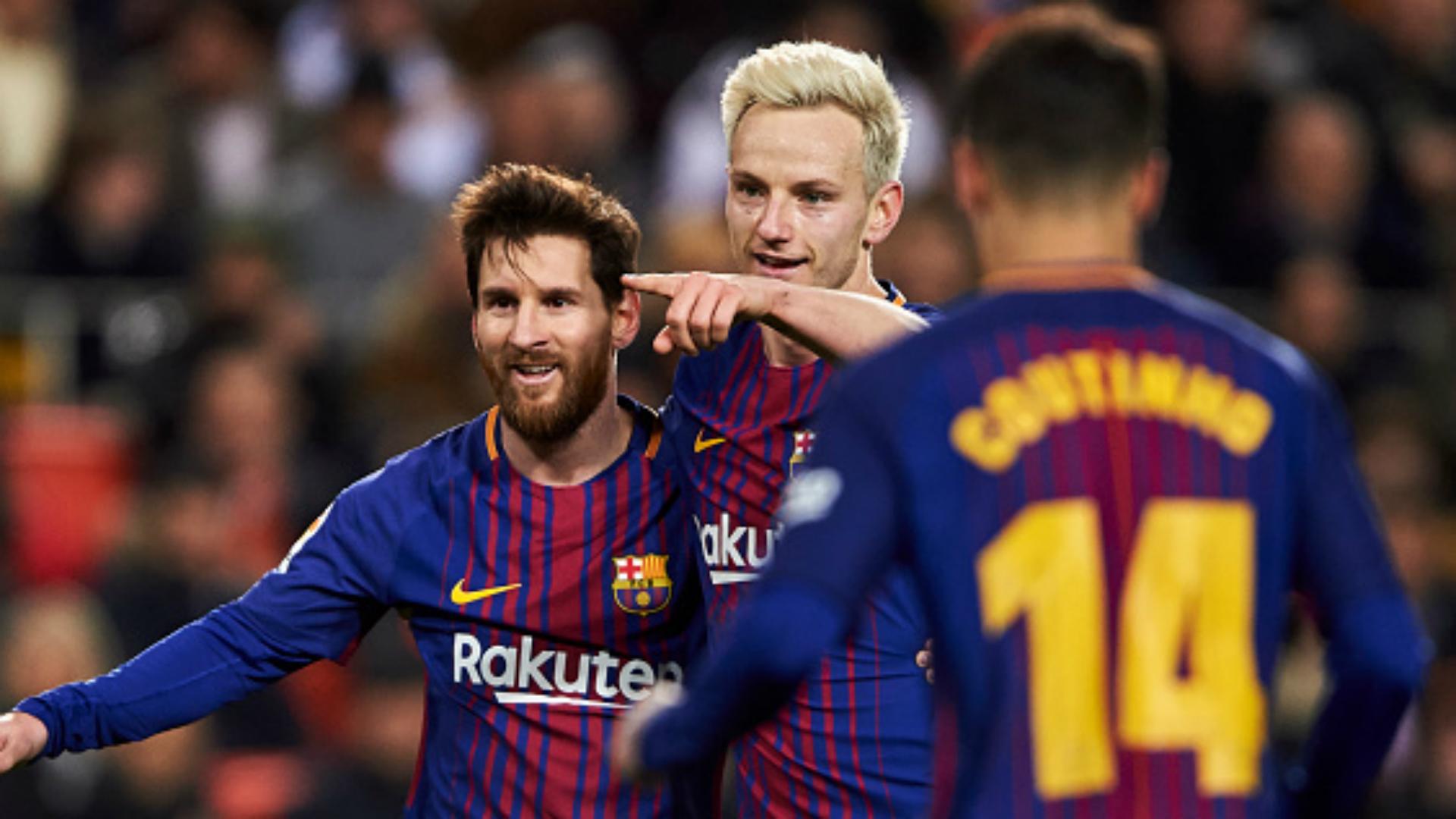 Barca reach King's Cup final again as Coutinho strikes