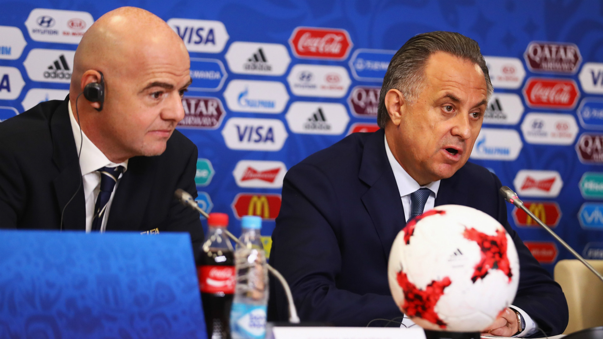 Vitaly Mutko again struck the public with his English 05/29/2015 66