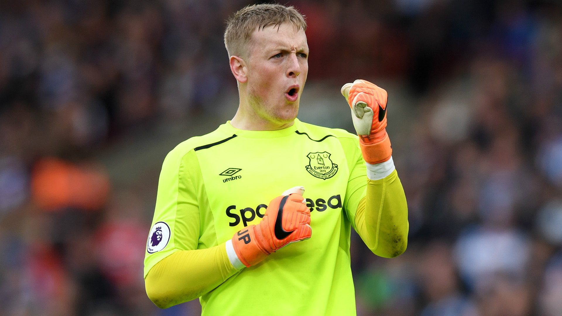 Pickford aims for European spot for Everton in Silva's first season