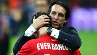 Ever Banega Unai Emery - Cropped
