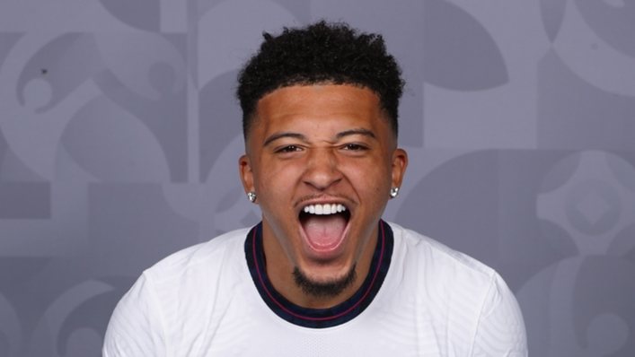 England winger Jadon Sancho has joined Manchester United
