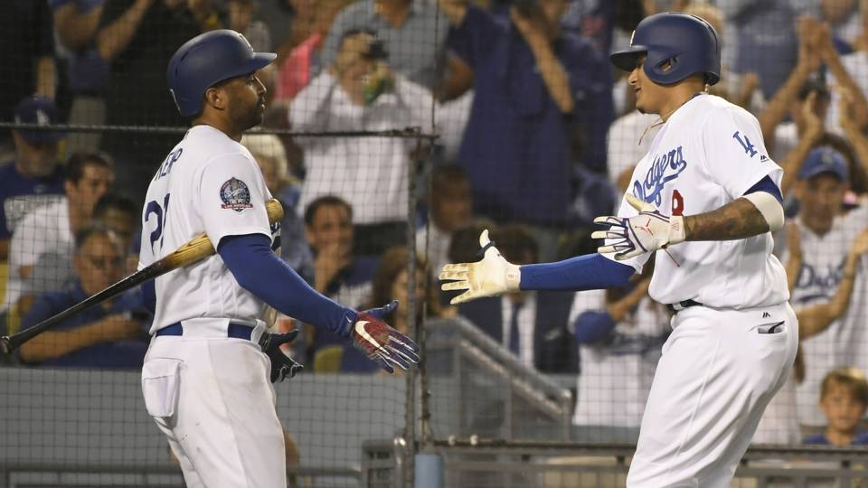 MLB wrap: Matt Kemp puts Dodgers in tie with Diamondbacks for NL West lead