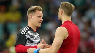 Marc-Andre ter Stegen and Manuel Neuer